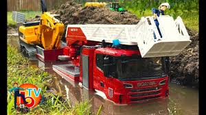 BRUDER Truck SCANIA FIRE Engine Brandbil With CAT Excavator | Kids ... Bruder Toys Man Tipping Truck W Schaeff Mini Excavator 02746 Youtube Bruder Truck Dhl Falls Into Water Trucks For Children Scania Timber Pimp My My Amazing Toys Cement Mixer Model Toy Truck Which Is German Sale Trucks Side Loading Garbage Review 02762 Hecklader Mll Lkw Operated By Jack3 Bruder Dodge Ram 2500heavy Duty2017 Mb Sprinter Animal Transporter 02533 Tractor Case Plowing With Lemken Plow Kids Video World Cat Excavator Riding In The Mud Videos Children Chilrden Matruck Played Jack 3