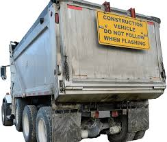 Dump Truck Sign Mount - Stay Safe Equipment