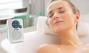 on earz bluetooth lautsprecher mit radio fürs badezimmer inkl versand