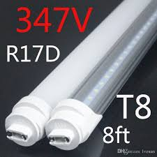 canada 347v industrial 2400mm fa8 r17d t8 led replace