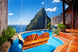 100 J Mountain St Lucia MAK Ladera Resort