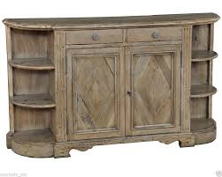 buffet cabinet sideboard in antique walnut driftwood wash