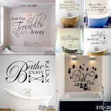 kreative waschraum badezimmer wand aufkleber wc tapete