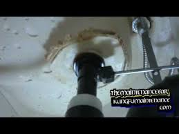 Bathtub Drain Stopper Stuck In Closed Position by How To Repair Bathroom Sink Pop Up Drains Youtube