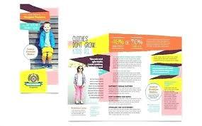 Tri Fold Brochure Template Word 2010 Blank Printable
