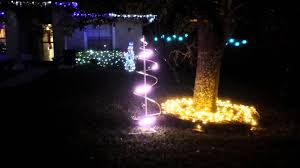 Spiral Lighted Christmas Tree by Apa 102 Led Strip Spiral Christmas Tree Youtube
