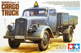 German 3Ton 4x2 Cargo Truck - Tamiya 35291 - Plastic Model Kit - 1 ... Revell Iveco Stralis Truck Plastic Model Kit Trade Me Kits Colpars Hobbytown Usa Ford Photographs The Crittden Automotive Library 132 Scale Snaptite Fire Sabes Amt 125 Freightliner Cabover 620 Mib Truck Plastic Model Kits My Website Blog 3dartpol Blog Convoy Mack Plastic 1965 Chevrolet Fleetside Pickupnew Pictures Scale Auto Magazine Buy 301950s Cartruck 11 Khd A3000 Wwii German Icm Holding Model White Freightliner 2in1 For Amazoncom Monogram 124 Gmc Pickup With Snow Plough Toys