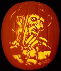 Frankenstein Pumpkin Stencil Free by The Inquisitive Loon The Horror Extravaganza Pumpkin