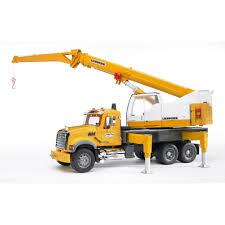 100 Bruder Tow Truck MACK Granite Liebherr Crane