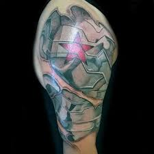 The Winter Soldier Arm Art Artwork Ace Armtattoo