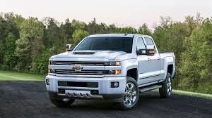 Chevrolet And GMC Slap Hood Scoops On Heavy Duty Trucks.