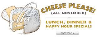 book your large parties banquets and events at ella ella