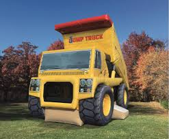 Inflatables, Game, Bouncers And Combos, Jump Truck Combo Yellow ...