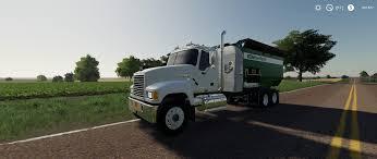 100 Feed Truck Mack Pinnacle V10 Mod Farming Simulator 2019