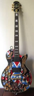 Epiphone Zakk Wylde Rebel Flag Relic This Piece Started As An Les Paul And Aged Properly Loaded With EMG 8185 Pickups