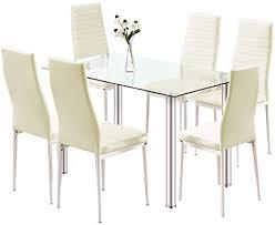 esstisch mit stühlen 32e saneryi esstisch set mit moderner