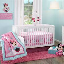 Nursery Bedding Collections Disney Baby Image On Excelent Girl Cot For Wmt Minnie Mouse Happy Day Set Sq