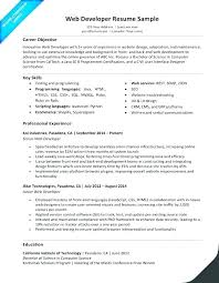 Sample Resume For 2 Years Experience In Net Ui Developer Designer Templates Ready