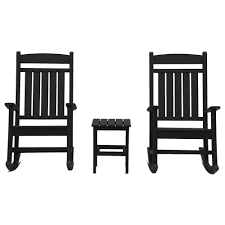 DUROGREEN Classic Rocker Black 3-Piece Plastic Outdoor Chat Set ... Outdoor Fniture Plastic Building Materials Bargain Center Nuby Flip N Sip Cups With Weighted Straws 3 Ct Bjs Whosale Club Portable Folding Chair Lounge Patio Yard Beach Adirondack Chairs The Home Depot Garden Chaise Recliner Adjustable Pool Scoggins Reviews Allmodern Loll Designs Lollygagger Recycled Houseology Giantex 60l Universal Offset Umbrella Base Modloft Clarkson Md633 Official Store Removable 4 Position Cushion Amazoncom Mesa White Mesh