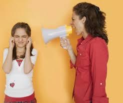 Mom Yelling At Teen Daughter