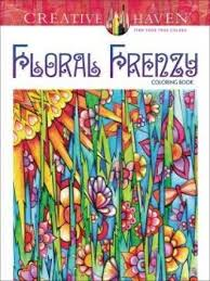 Creative Haven Floral Frenzy Coloring Book Adult