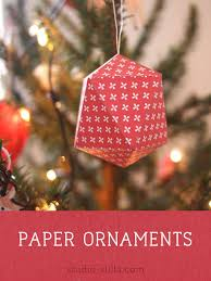 Printable Christmas Tree Ornaments Instant Dowload