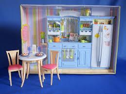 2005 Barbie Decor Collection Kitchen Set