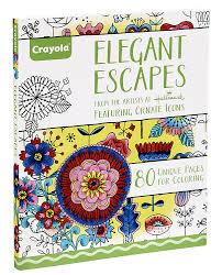 Amazon Crayola Elegant Escapes Coloring Book Hallmark Toys Games