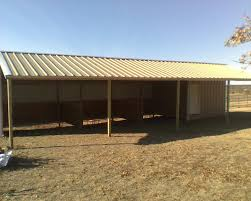 Metal Loafing Shed Kits by 18x36 Loafing Shed Three 10x10 Stalls 6x10 Tack Room 8x36