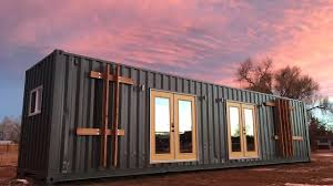 100 Houses Built With Shipping Containers The Intellectual Container Tiny House Is For Sale YouTube