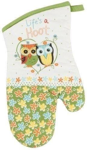Kay Dee Designs Cotton Oven Mitt - Life's a Hoot, Pack of 3