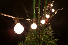 outdoor globe lighting string lilianduval