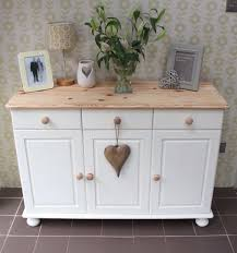 Shabby Chic Dining Room by Shabby Chic Annie Sloan Painted Pine Sideboard Pine Sideboard