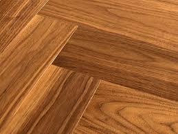 White Oak Herringbone Flooring American Walnut