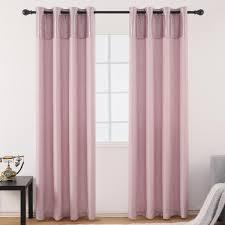 großhandel jarl hause leinenvorhänge liner für schlafzimmer stitching 85 grau rosa blackout vorhang für wohnzimmer jarlhome 23 5 auf