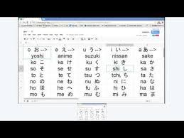 Pronouncing The Japanese Alphabet
