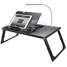 Amazon Portable Folding Notebook or Laptop Table Desk