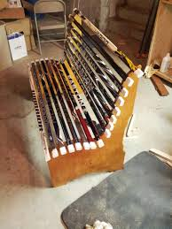 Simple Wood Projects That Sell Great by Project Broken Hockey Stick Bench Dan Zehner