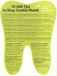 Healthy Halloween Candy Tips by Stop Zombie Mouth