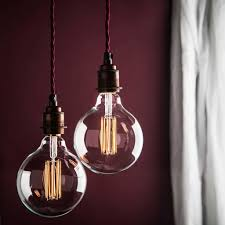 large globe led filament bulb e27 and b22 by factorylux