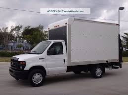 100 Ford Box Truck 2011 E350 Econoline Commercial Cutaway 12ft