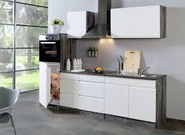 küchenzeile cardiff küche mit e geräten breite 270 cm hochglanz weiß
