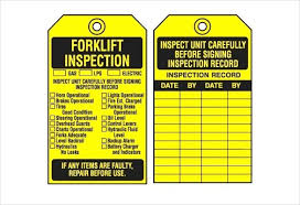 Inspection Tag Template Equipment Inventory Tags Fire Extinguisher Pdf