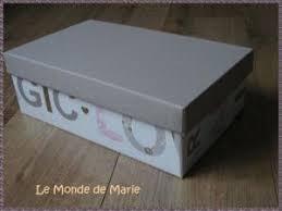 comment faire des boites de rangement décoratives avec de la récup