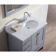 36 Inch White Vanity Without Top by Bathrooms Design Bathroom Vanity Cabinet Inch Single Sink White