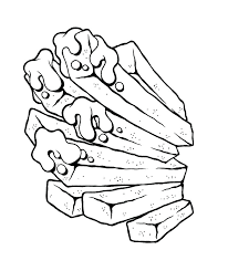 french fries coloring page junk food fries coloring page for kids french fries coloring sheet