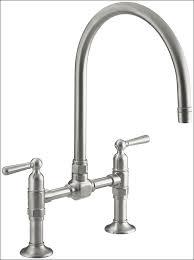 Foot Pedal Faucet Kohler by Bathroom Marvelous Moen 4 Piece Kitchen Faucet 12 Inch Bridge