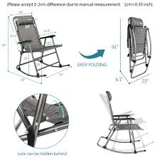 Details About Zero Gravity Rocking Chair Beach Reclining Folding Chairs For  Camping Hiking Costway Outdoor Rocking Lounge Chair Larch Wood Beach Yard Patio Lounger W Headrest 1pc Fniture For Barbie Doll Use Of The Kids Beach Chairs To Enhance Confidence In Wooden Folding Camping Chairs On Wooden Deck At Front Lweight Zero Gravity Rocker Backyard 600d South Sbr16 Sheesham Relaxing Errecling Foldable Easy With Arm Rest Natural Brown Finish Outdoor Rocking Australia Crazymbaclub Lovable Telescope Casual Telaweave