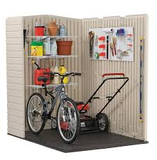 Suncast Vertical Shed Manual by Amazon Com Rubbermaid Plastic Large Outdoor Storage Shed 159 Cu