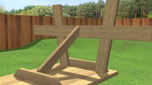 how to build a picnic table 13 steps with pictures wikihow